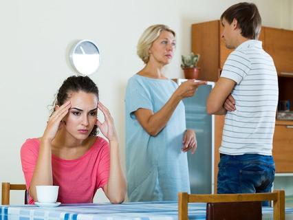 Родственники ссорятся