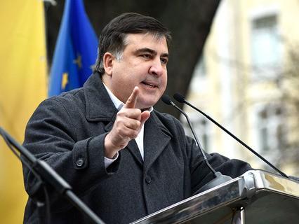 Экс-губернатор Одесской области Михаил Саакашвили
