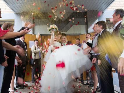 Бракосочетание в ЗАГСе