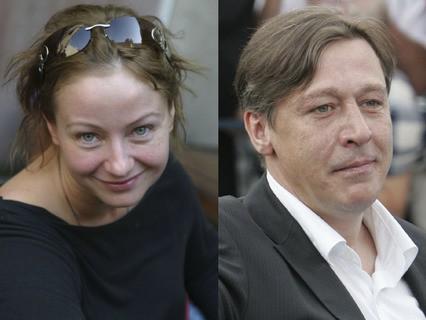 Евгения Добровольская и Михаил Ефремов