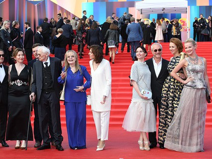 Гости на церемонии открытия 39-го Международного Московского кинофестиваля