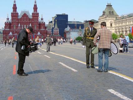 Видеосъёмка на Красной площади