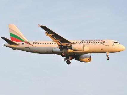 Самолёт авиакомпании Bulgaria Air