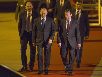 Владимир Путин прилетел на саммит G20 в Гамбург
