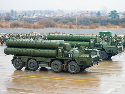Пусковая установка зенитного ракетного комплекса С-400
