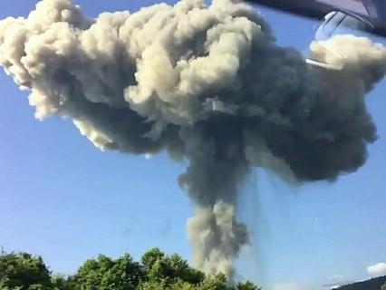 Взрывы на складе боеприпасов в Абхазии