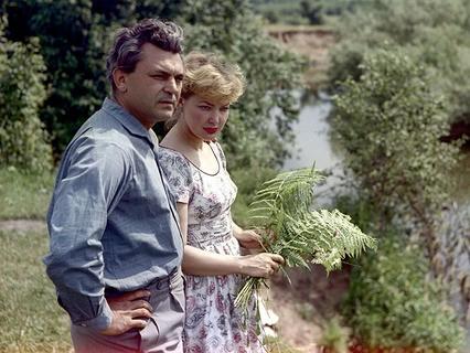 Сергей Бондарчук и Ирина Скобцева