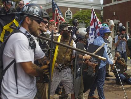 В американском штате Виргиния продолжаются манифестации