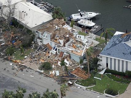 """Последствия урагана """"Харви"""" в американском штате Техас"""