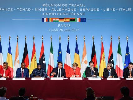 Парижский саммит европейских лидеров