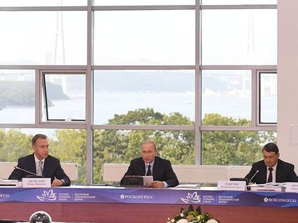 Владимир Путин проводит заседание президиума Госсовета
