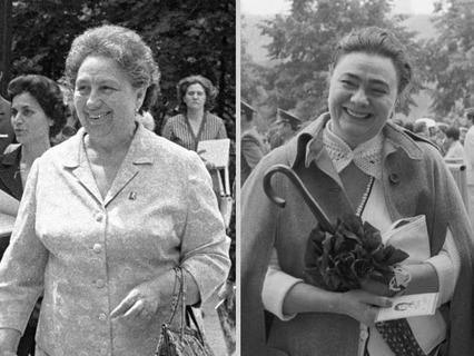 Виктория и Галина Брежневы