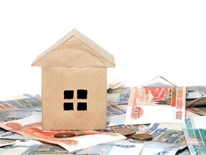 Бумажный домик и деньги