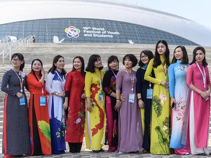 XIX Всемирный фестиваль молодёжи и студентов. День шестой