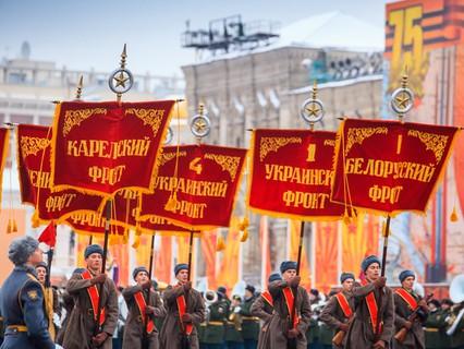 """Торжественный марш, посвящённый 76-й годовщине Парада на Красной площади 7 ноября 1941 года. Анонс. """"Торжественный марш, посвящённый 76-й годовщине Парада на Красной площади 7 ноября 1941 года"""""""