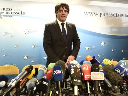 Экс-глава Каталонии Карлес Пучдемон