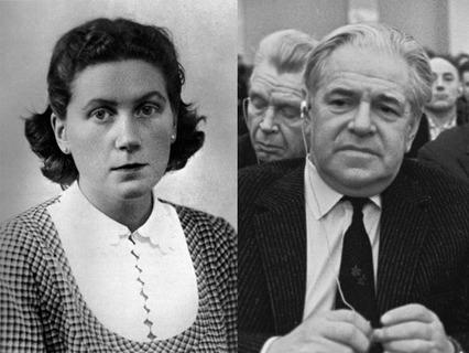 Дочь И.В. Сталина Светлана Аллилуева и сценарист Алексей Каплер