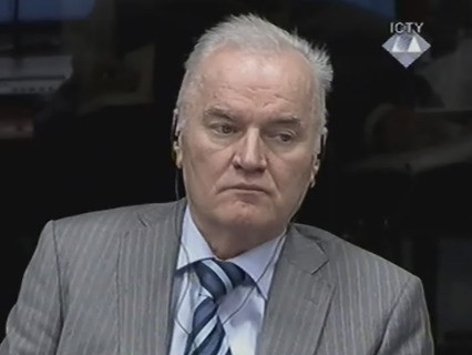 Бывший командующий армией боснийских сербов Ратко Младич