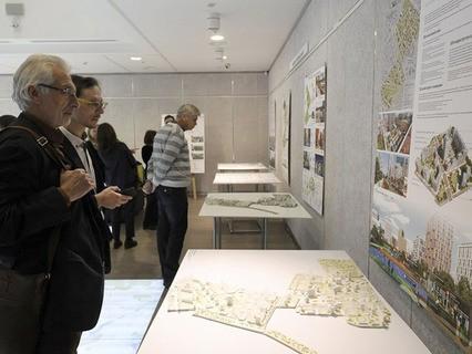 Пресс-конференция, посвящённая открытию выставки проектов экспериментальных площадок реновации