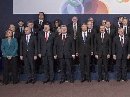 """Президент Украины Пётр Порошенко во время саммита """"Восточного партнёрства"""""""