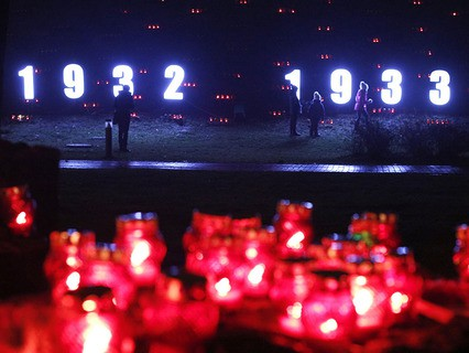 На Украине вспоминают жертв голодомора