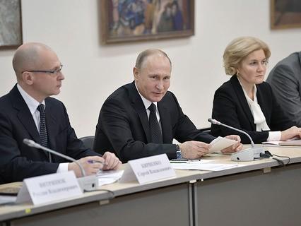 Владимир Путин проводит встречу с инвалидами и представителями общественных организаций