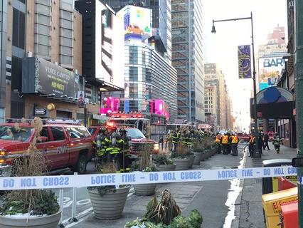 В результате теракта в Нью-Йорке пострадали четыре человека