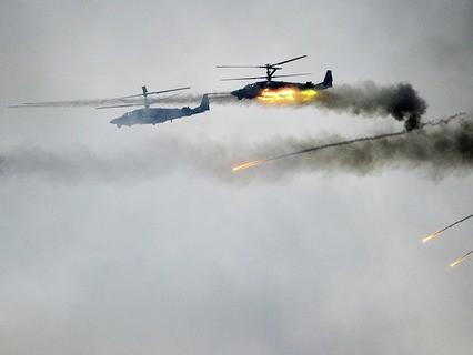 Вертолёты Ка-52
