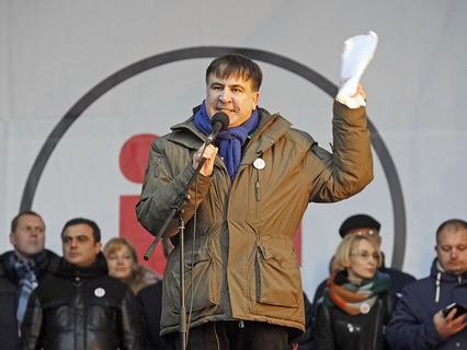 Бывший президент Грузии и экс-губернатор Одесской области Михаил Саакашвили