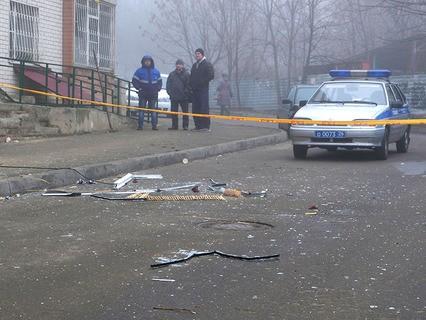 Около жилого дома в Ставрополе, где произошёл взрыв гранаты