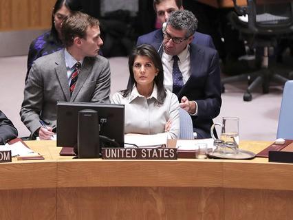 Постпред США Никки Хейли при ООН