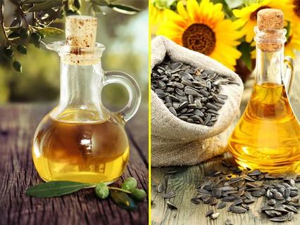 Оливковое против подсолнечного масла
