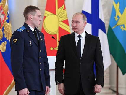 Владимир Путин встретился с военнослужащими, участвовавшими в операции в Сирии