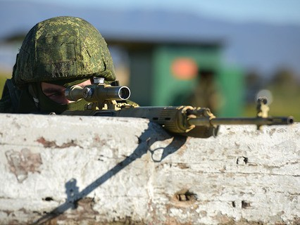 Учения снайперов