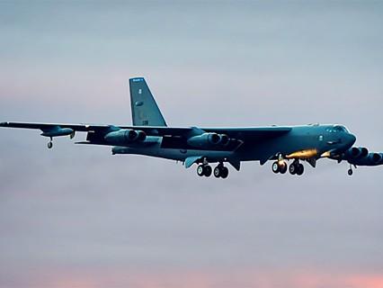 Бомбардировщик ВВС США B-52