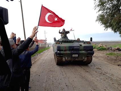 Турецкая армия в сирийском Африне