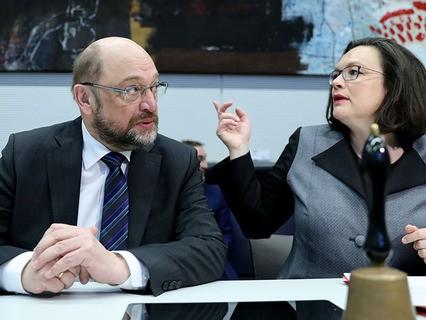 Социал-демократы проголосовали за продолжение переговоров с партией Ангелы Меркель
