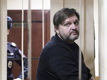 Экс-губернатор Кировской области Никита Белых на оглашении приговора в Пресненском суде