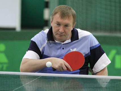 Российский спортсмен Сергей Поддубный