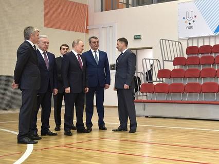 Владимир Путин проверил подготовку к зимней Универсиаде-2019 в Красноярске
