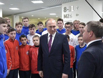 Рабочая поездка Владимира Путина в Красноярск