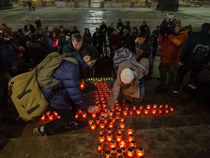 Москвичи скорбят по погибшим в авиакатастрофе Ан-148