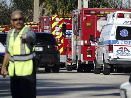 В результате стрельбы в одной из школ Флориды погибли 17 человек