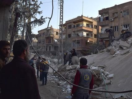 Дамаск вновь оказался под обстрелом боевиков