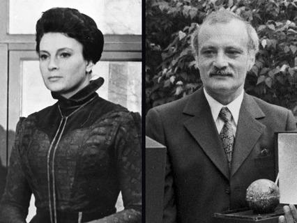 Любовь Соколова и Георгий Данелия