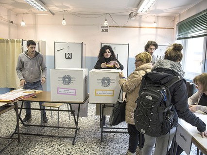 В Италии стартовали всеобщие парламентские выборы