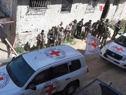 Гуманитарная помощь жителям Восточной Гуты, Сирия