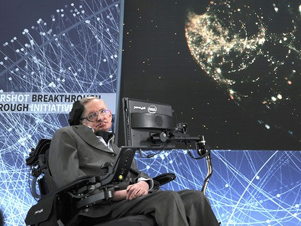 Астрофизик и популяризатор науки Стивен Хокинг
