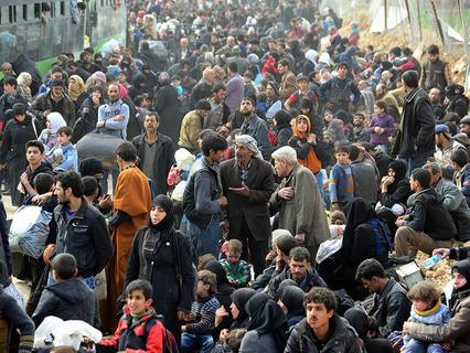 Восточную Гуту за время гуманитарной паузы покинули почти 11 тысяч человек