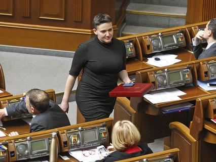 Надежда Савченко арестована в здании Верховной Рады